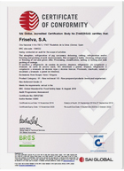 BRC certificado de calidad