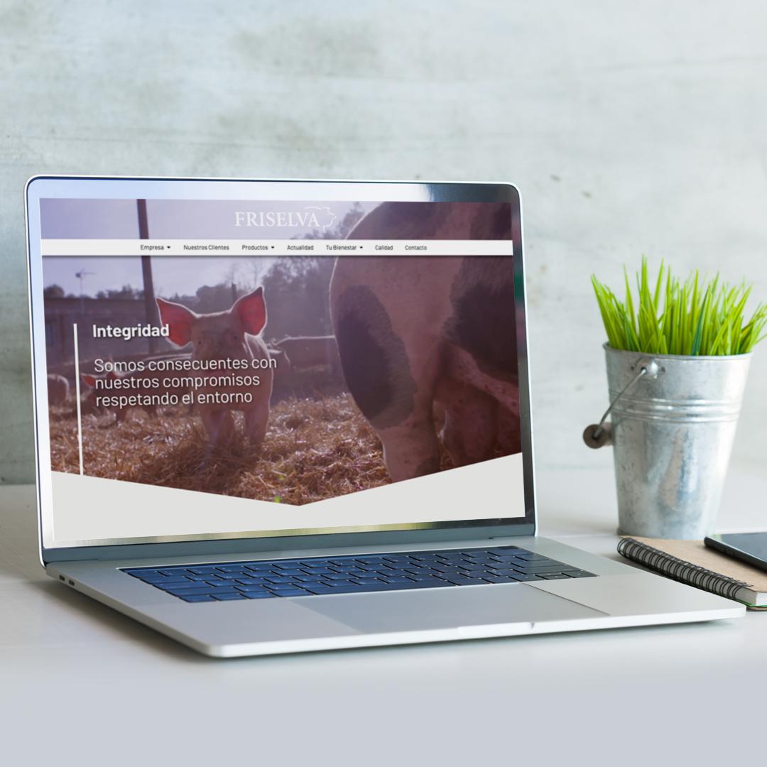 Nueva web Friselva