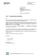 calidad Friselva certificado SAE