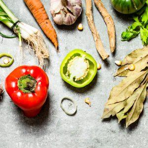 Salud y Bienestar con Friselva. Detalle de ingredientes saludables.